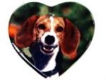 Keramički ornament u obliku srca