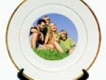 Keramički dekorativni tanjir