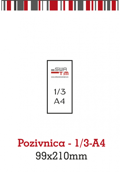 Pozivnica-1/3-A4