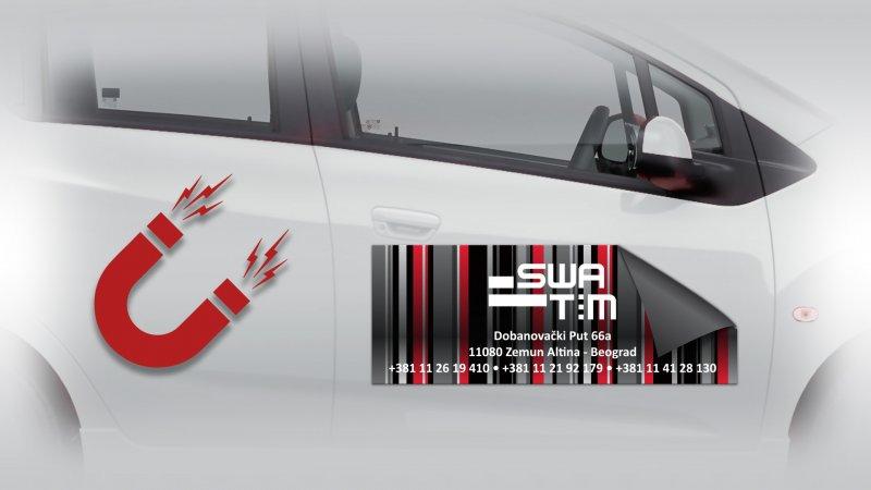 magneti za kola, magnetni stikeri