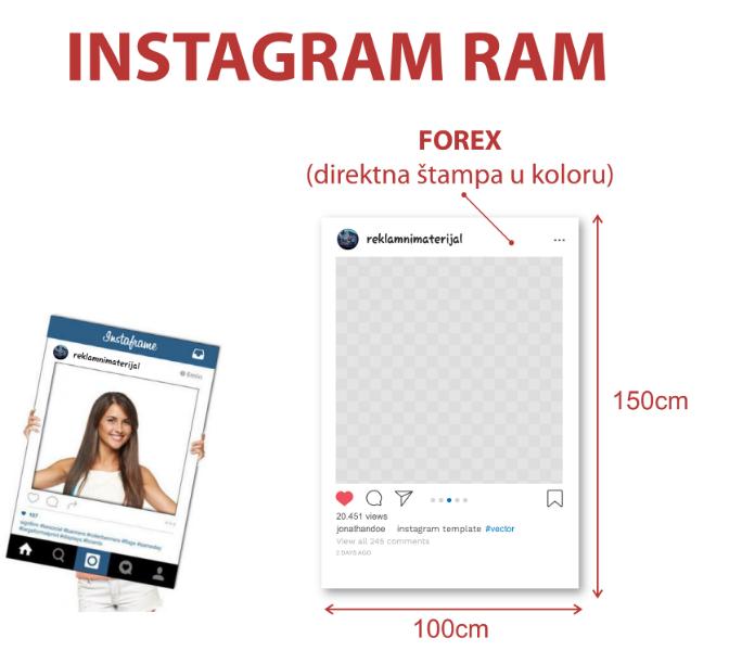 stampa-na-pos-i-btl-materijal-dimenzije/reklamni-materijal-swa-tim-stampa-na-pos-btl-materijal-instagram-ram-foto-ram-od-foreksa-sa-direktnom