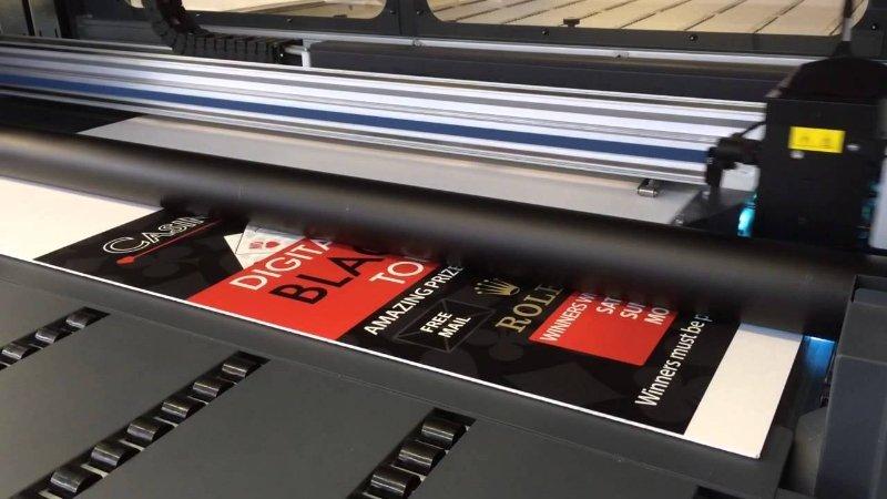 Direktna digitalna stampa na pločastim materijalima - stampa na pločama