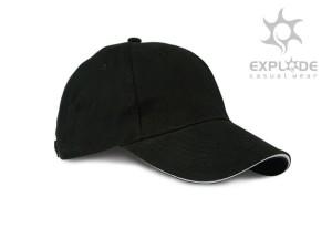 reklamni materijal - kacketi - RUNNER - boja crna