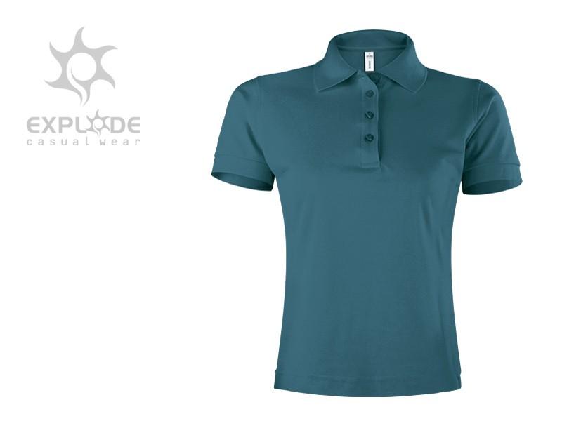 reklamni materijal-polo majice-SUNNY-boja petrol