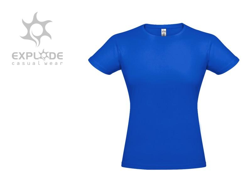 reklamni materijal-zenske majice-DONNA-boja rojal-plava