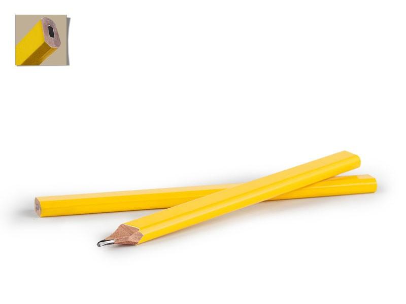 reklamni materijal-drvene olovke-CARPENTER-boja zuta