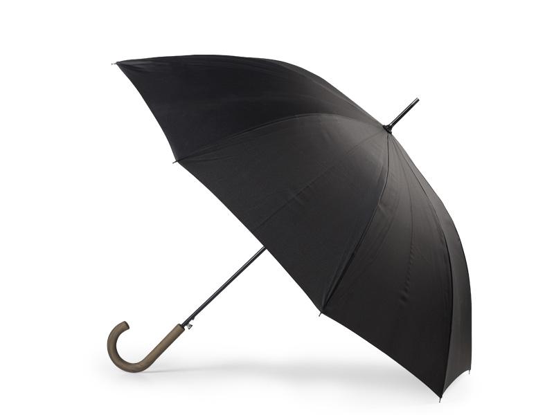 reklamni-materijal-swa-tim-BAVARIA, kišobran sa automatskim otvaranjem crni