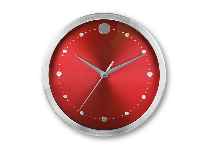 reklamni-materijal-swa-tim-TWINGO zidni sat crveni