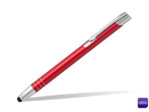 reklamni-materijal-swa-tim-OGGI TOUCH, metalna touch hemijska olovka, crvena