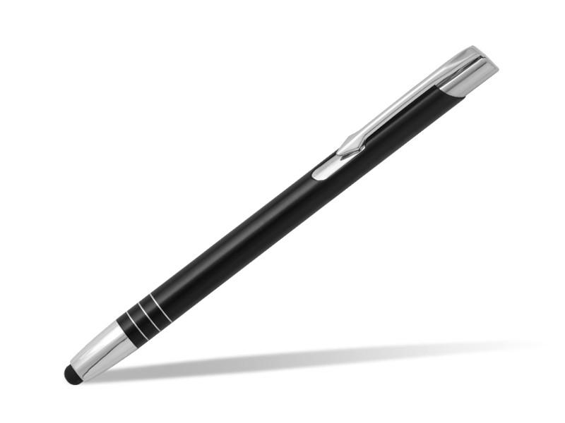 reklamni materijal-metalne olovke-OGGI TOUCH-boja crna