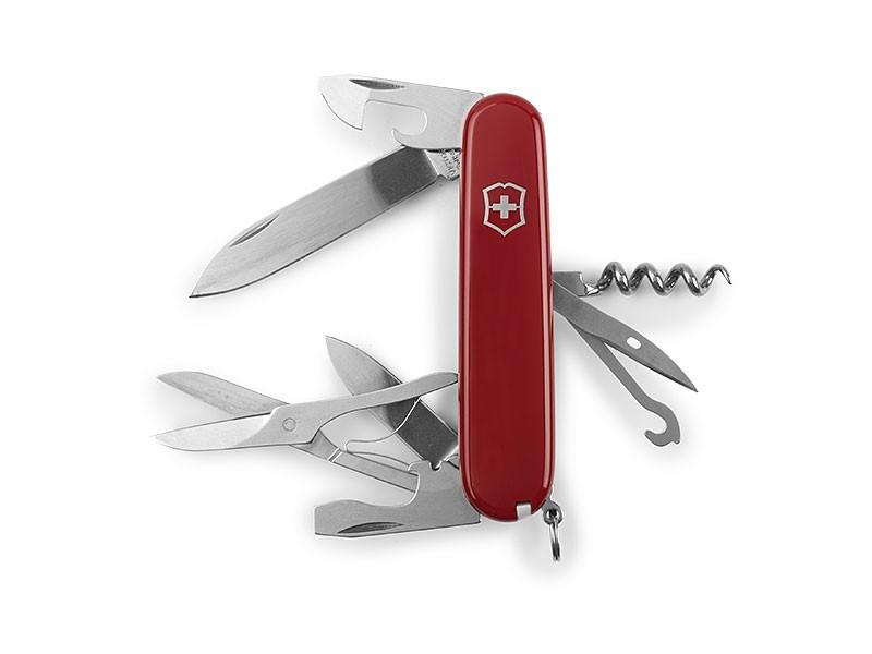 reklamni materijal - izvidjacka oprema - VICTORINOX CLIMBER - boja crvena