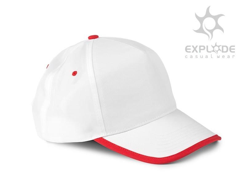 reklamni materijal - kacketi - FIVE - boja crvena