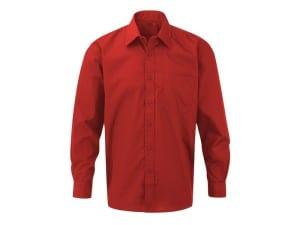 reklamni materijal-kosulje-COMFORT LSL MEN-boja crvena