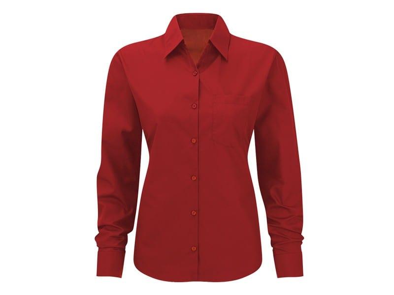 reklamni materijal-kosulje-COMFORT LSL WOMEN-boja crvena