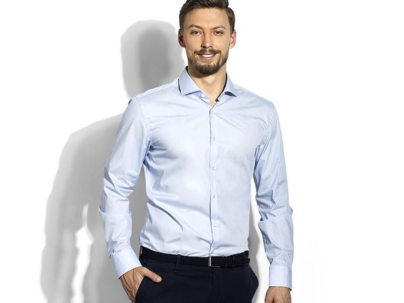 reklamni materijal-kosulje-SHARP LSL MEN-boja svetlo-plava