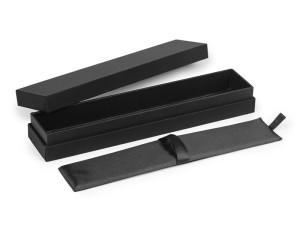 reklamni materijal - kutije za olovke - SOFT TOUCH - boja crna