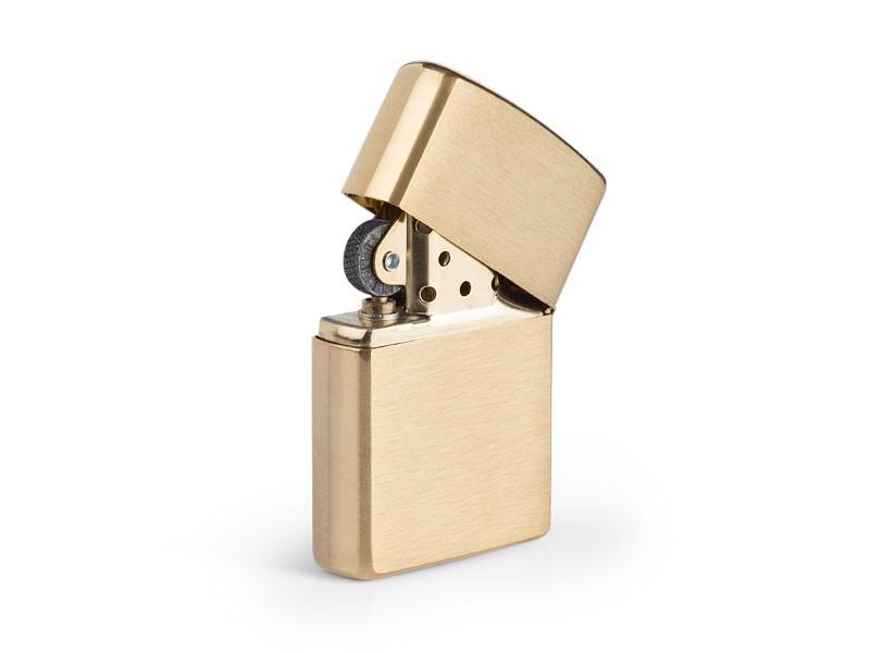 reklamni materijal-metalni upaljaci-ZIPPO 204 B-boja zlatna