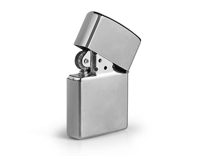 reklamni materijal-metalni upaljaci-ZIPPO 205-boja sjajni-metal