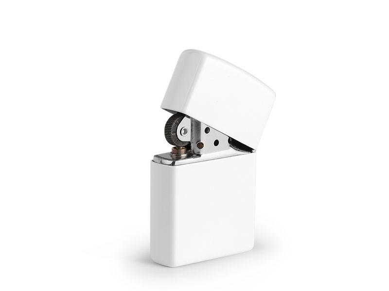 reklamni materijal-metalni upaljaci-ZIPPO 214-boja bela