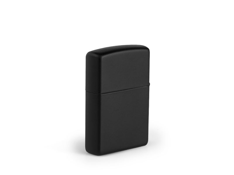 reklamni materijal-metalni upaljaci-ZIPPO 218-boja crna