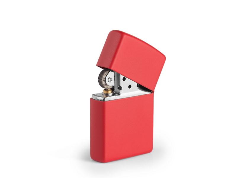 reklamni materijal-metalni upaljaci-ZIPPO 233-boja crvena