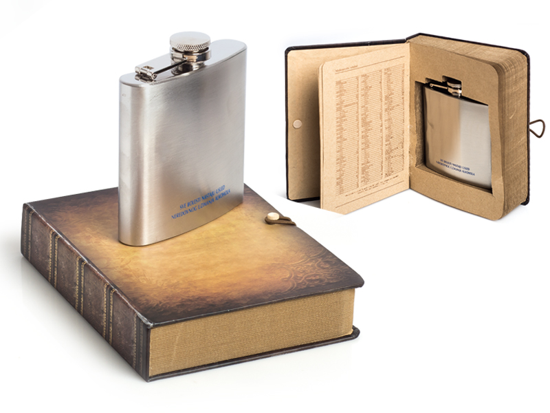 reklamni materijal-pljoske i cuturice-BIBLIOTEKA-poklon set