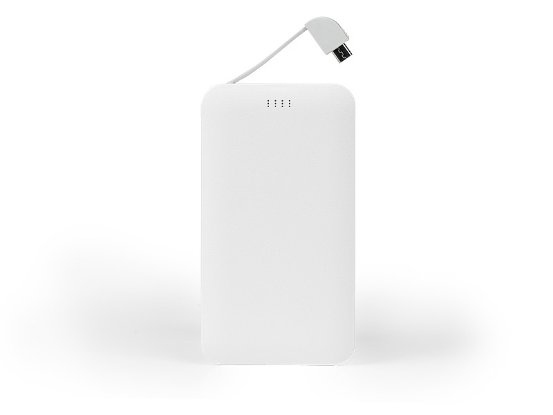 reklamni materijal-power bank-AXIS-boja bela