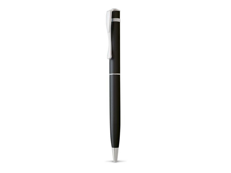 reklamni materijal-reklamne metalne olovke-TWIGGY-boja crna