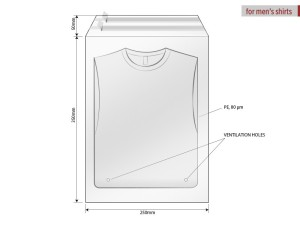 reklamni materijal-unisex majice-POLY BAG 25 X 35