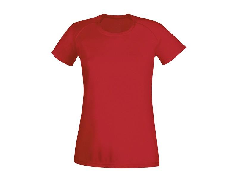 reklamni materijal-zenske majice-RECORD LADY-boja crvena