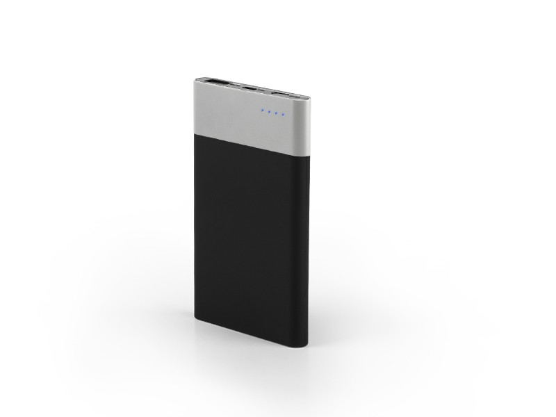 reklamni-power bank-KINETIC-boja silver