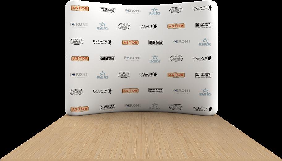 reklamni materijal-swa-tim-Backboard-ZAKRIVLJEN-344x230cm-5-polja-SWA-TIM-reklamni-back-board.