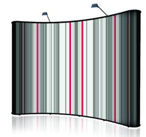 Backboard ZAKRIVLJEN 414x230cm - 6 polja SWA TIM-reklamni back board
