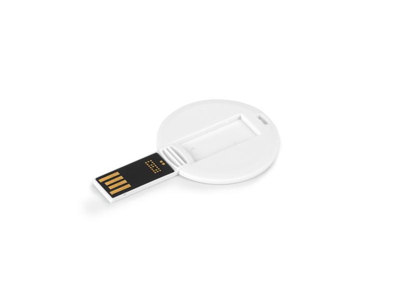 reklamni materijal - USB Flash memorija - COIN CARD- boja bela
