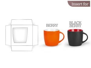 reklamni materijal - keramika i staklo - B4 - boja bela