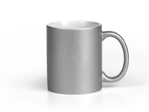 reklamni materijal - keramika i staklo - BARTON SPARK - boja silver